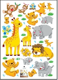 Cute Animal Sticker Sheets #2