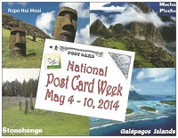 Celebrate National Post Card Week! Newbies