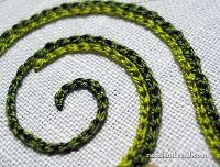 Embroidery Lessons - Chain Stitch #2