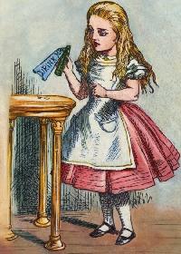 Alice in Wonderland ATC (3 Partners)