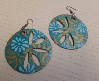 handmade dangle earring swap- may