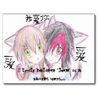 Anime Postcard & letter ^-^