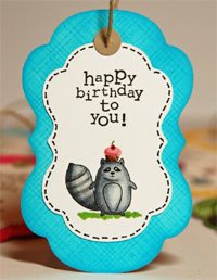 Handmade Gift Tags: Birthday