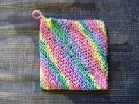 Summer Time Pot Holder and a Recipe