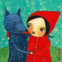 Fairy Tale Mail-Art: Little Red Riding Hood