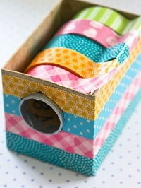 Bright, beautiful washi!