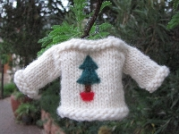 Handmade Christmas Ornament - August