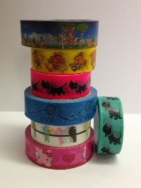 Animal or Insect Washi samples