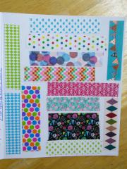 AoW: Washi Snippets & a Note