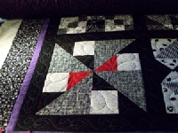 Ongoing Black and White Quilt Block Swap with a TW