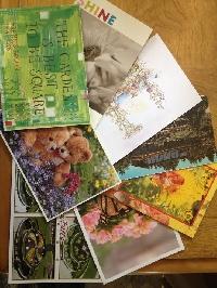 How Does Your Garden Grow - postcard swap