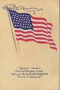 USA Patriotic ATC *RED *WHITE*BLUE*