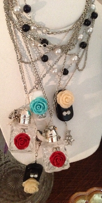 Repurpose Reuse Restyle a necklace