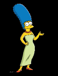 Simpsons Character ATC - MARGE - USA only