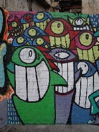 Polaroid Street Art/Graffiti