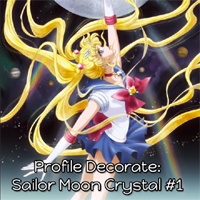 SMF: Profile Decorate: Sailor Moon Crystal #1