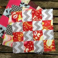 BOM 16 patch quilt block #4