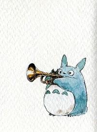 My Neighbor Totoro ATC Swap #3