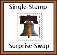 Single Stamp Surprise Swap #5--USA
