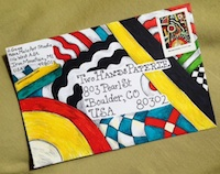 NH Mail Art for Beginners: Bright & Happy! (USA)