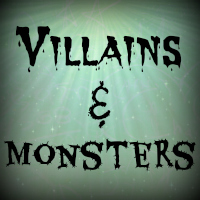 ❤ ATC Villains & Monsters - B ❤