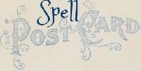Spell Out Postcard