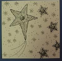 ZenZen Group: Zentangle Tile featuring ... Stars
