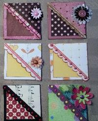Easy Handmade Page Corner Swap