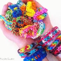 Rainbow loom creation swap  KIDS swap