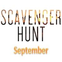 Digital Photo Scavenger Hunt - September