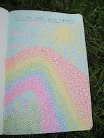 Mini Handmade Art Journal R13