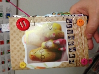 SWL ~ Handmade envie book #6 christmas