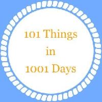 101 Things Progress- September 2014