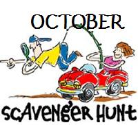 Digital Photo Scavenger Hunt - October