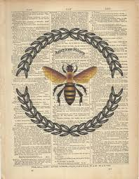 Book Page/ Bumble Bee