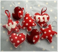 Handmade Christmas Tree Ornament and Card