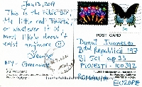 Too Funny!! Postcard swap 3......