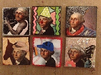 INT  Boring People Postage stamp all jazzed up