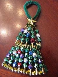 Handmade 'Tree'  Christmas Ornament