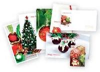 Blank Christmas Card Exchange +1
