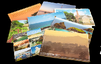 Postcard swap with swap album