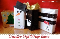 Gift Wrapping Ideas Board