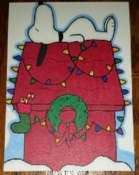 Snoopy Christmas ATC