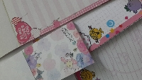 Kawaii and cute memo sheets swap