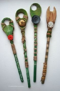 ☽◯☾ Witchy/Pagan Spoon