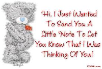 Someone Out There is Thinking of You!