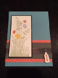 Technique Handmade Card Swap #1