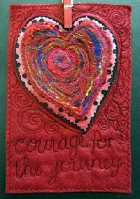 February Prayer Flag