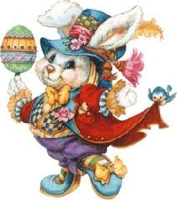 Easter Bunny Dotee