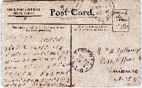 FEB: Coded Message on a Postcard